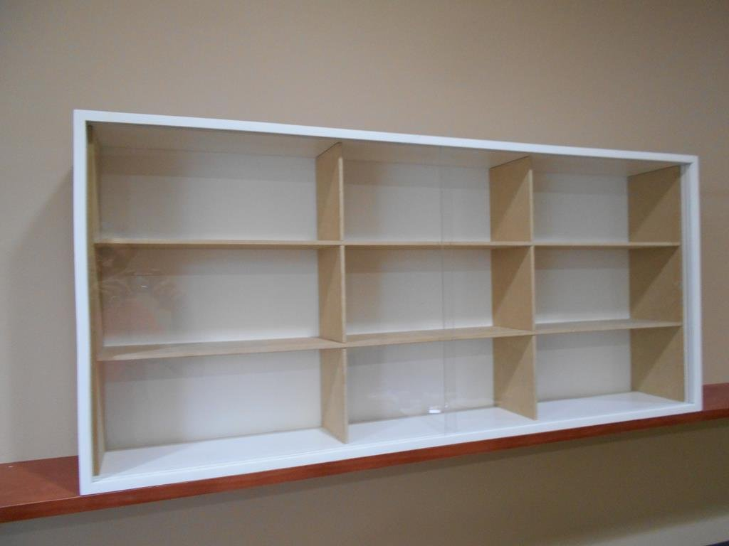 Showcase, Wall Display case cabinet for 1/18 scale diecast cars