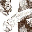 Steve - Original Pen & Ink Drawing