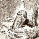 Hand - Original Pen & Ink Drawing