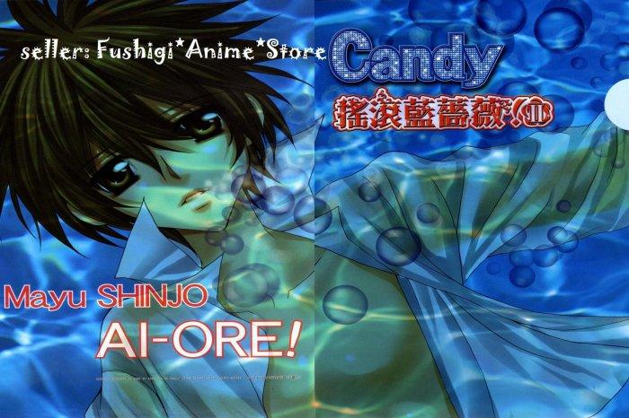 Shinjo Mayu BLAUE ROSEN AI ORE DANSHIKOU NO HIME TO JOSHIKOU NO OUJI Akira Shiraishi Folder File