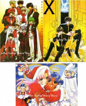 CLAMP Nakayoshi Furoku X 1999 Magic Knight Layearth Postcard Set of 3