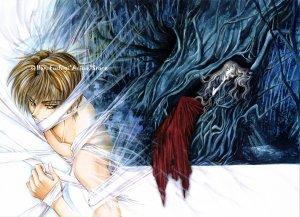 Kaori Yuki ANGEL SANCTUARY Paperboard Poster Print #10