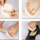 1 Toe Splint Corrector Straightener 3 Toe Hammer Claw Overlapping Right foot
