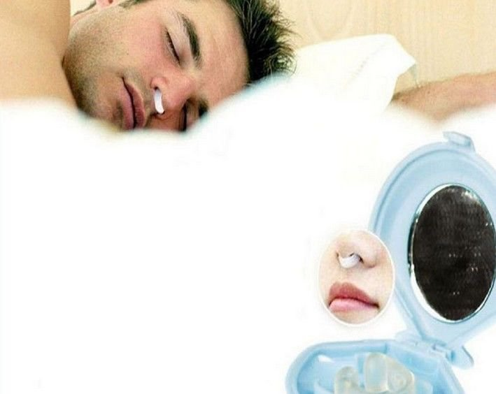 Stop Snoring Nose Clip Anti Snoring Silicon Nose Night Sleep Aid Plug Device