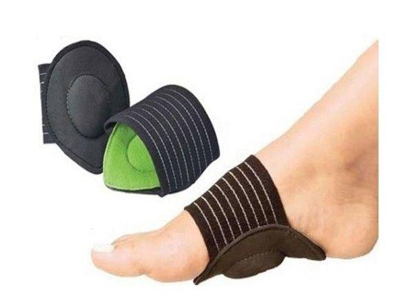 STRUTZ CUSHIONED ARCH FOOT SUPPORT ~ Helps Decrease Plantar Fasciitis Pain 1 Pr