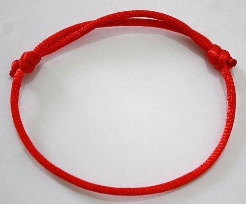 4X Handmade Kabbalah Red String Bracelet Evil Eye Jewelry Kabala New