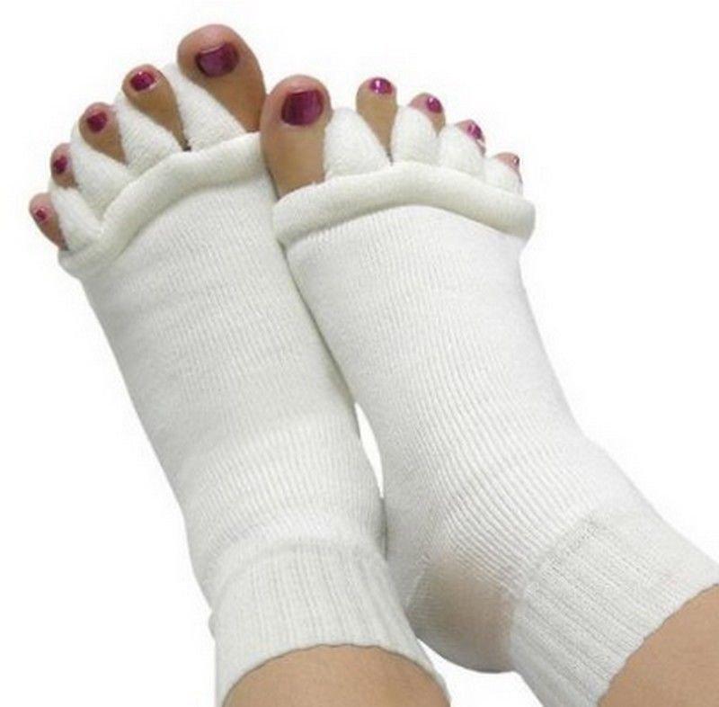 Ultra Soft Massage Toe Socks For Bunion Care Sensative Toes Diabetic Neuropathy