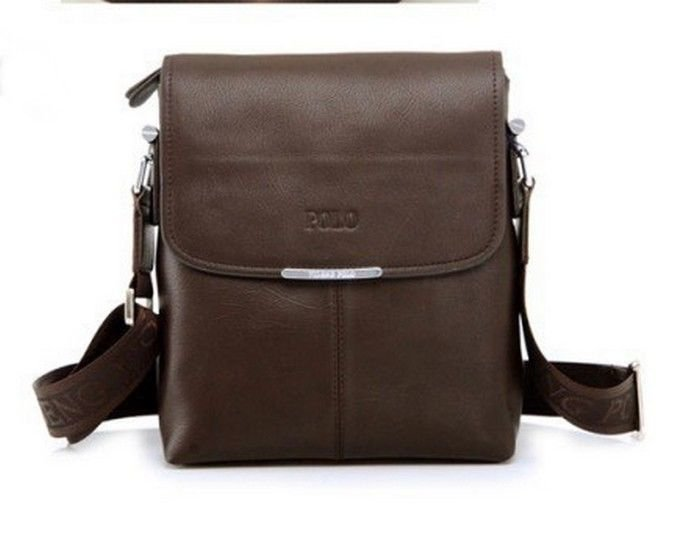 Mens Dark Brown Satchel Courier Cross Body Shoulder Messenger Bag NEW