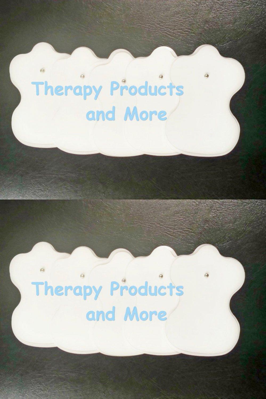 Electrode Pads 5 Pairs (10) for Sunmas Digital Massager Machine Estim TENS NEW