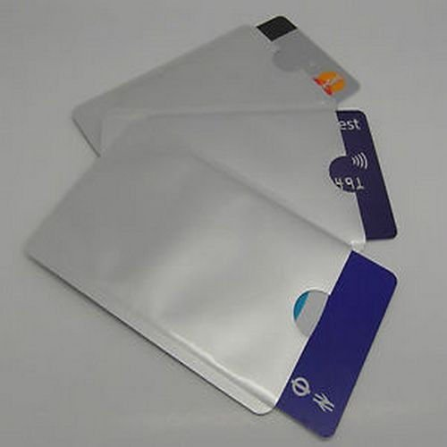 20 pcs RFID Blocking Sleeves, Secure Credit Card Protection Shield w/Tracking