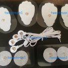 ELECTRODE LEAD CABLE (2.5mm Plug) + MASSAGE PADS COMBO(4 LG, 4 SM PADS, + CABLE)