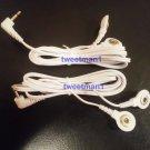+BONUS+ ELECTRODE LEAD WIRES CABLES 2.5mm CONNECTION FOR DIGITAL MASSAGER EMS