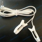 EAR CLIP/CLAMP ELECTRODE with 2.5mm Plug Lead Cable for Digital Massager, TENS