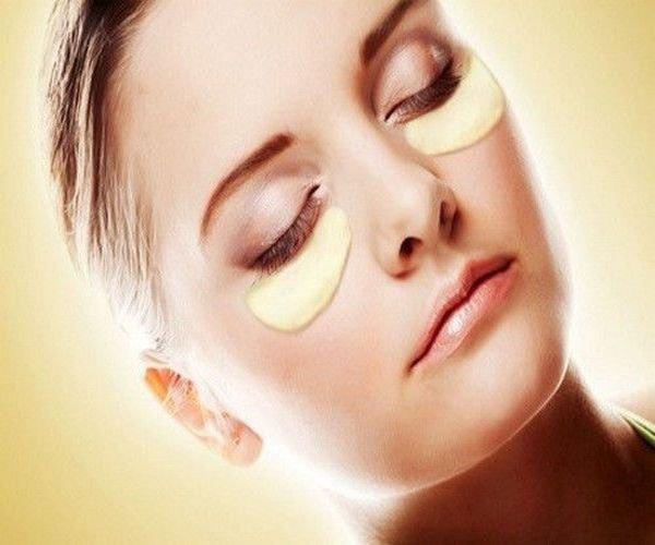 20 Gold Collagen Eye Facial Mask Pads, Anti-Aging 24k Moisturize Revitalize Skin