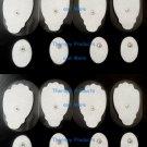 +BONUS+ REPLACEMENT ELECTRODE PADS(8 LG, 8 SM OVAL) FITS MAGIC MASSAGE MASSAGEO