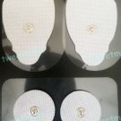 REPLACEMENT ELECTRODE MASSAGE PADS (2 LG, 2 SM) FOR TENS DIGITAL MASSAGER EMS