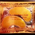 2 Pairs, Crystal Collagen Gold Eye Mask Reduce Eye Wrinkles Bags & Dark Circles