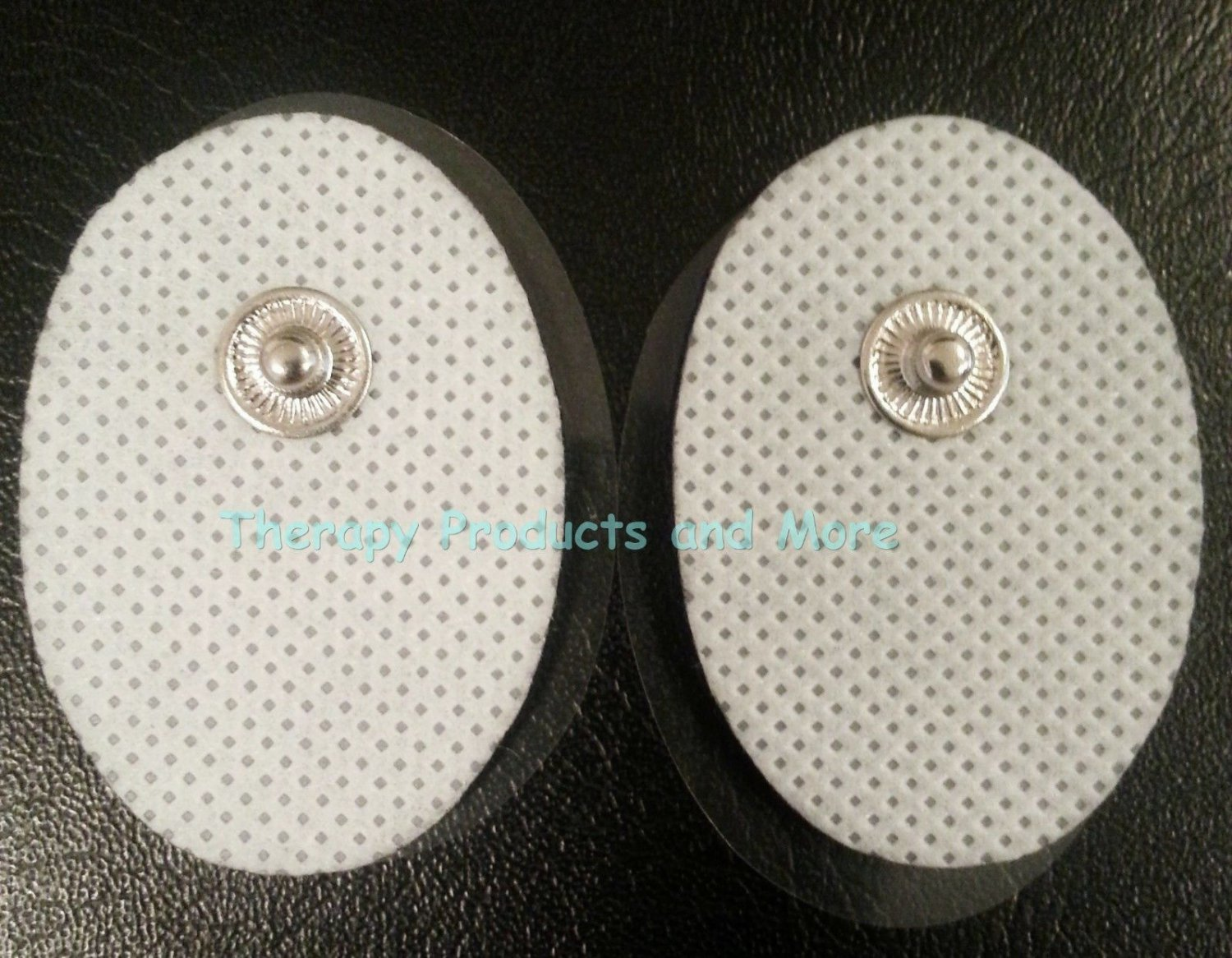 Small Massage Pads / Thick Electrodes OVAL (6) for PCH Digital Massager TENS