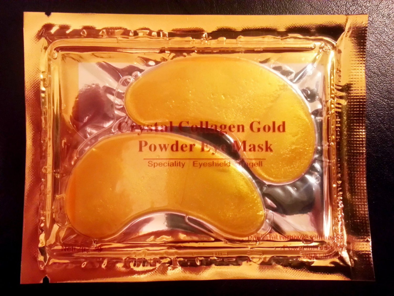 Gold Collagen Eye Facial Mask Pads, Anti-Aging Skin Moisturizing Reduce Circles