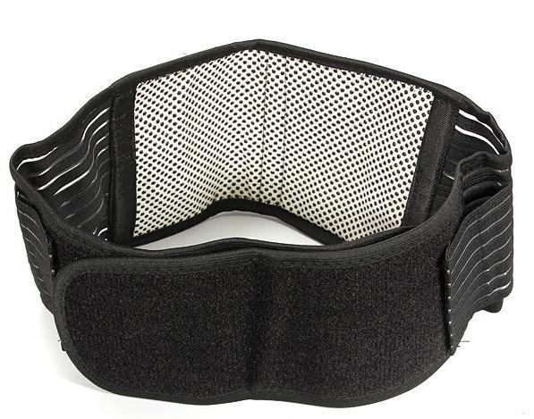XL Low Back Support Brace Belt (XLarge) Tourmaline Far Infrared Self Heating New
