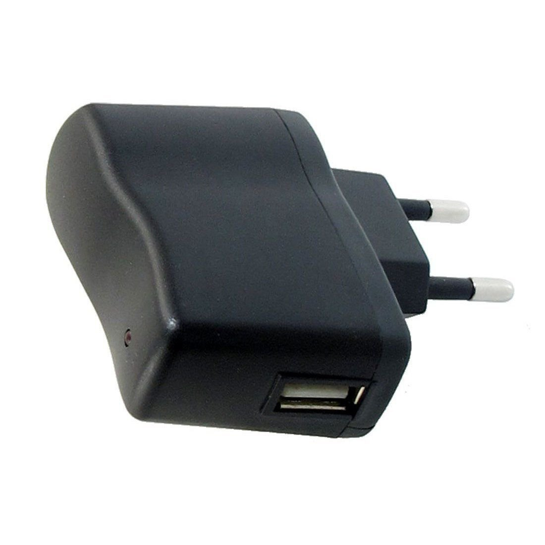 AC 110V-240V to DC 5V 0.5A 500mA USB to EU Plug Power Adapter Charger