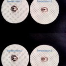 Small Snap-on Electrode Pads (12) for Digital Massage/TENS/Electronic Massagers