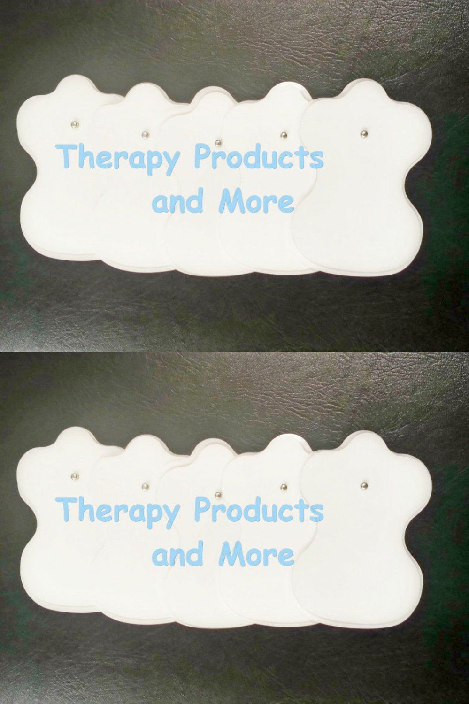 Electrode Pads 5 Pairs (10) for Massageo Digital Massager Estim TENS NEW
