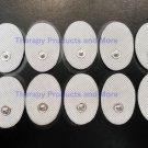 +BONUS+ Small Massage Pads / Electrodes Oval (20) for IQ SUNMAS DIGITAL MASSAGER