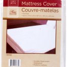 2 QTY FULL SIZE MATTRESS COVER Extra Soft Plastic Fitted Protector Waterproof