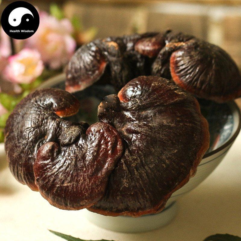 Dried Reishi Mushroom 500g Real Chinese Ganoderma Lucidum Purple Lingzhi