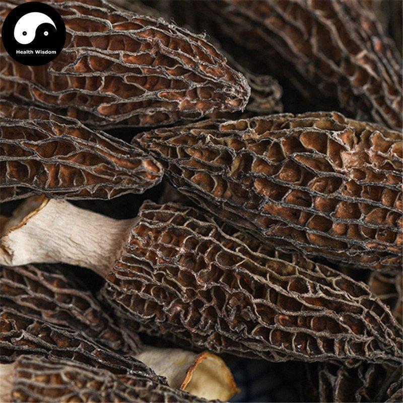 Morchella Vulgaris Mushroom 50g Chinese Rare Fungus Morels Yang Du Jun
