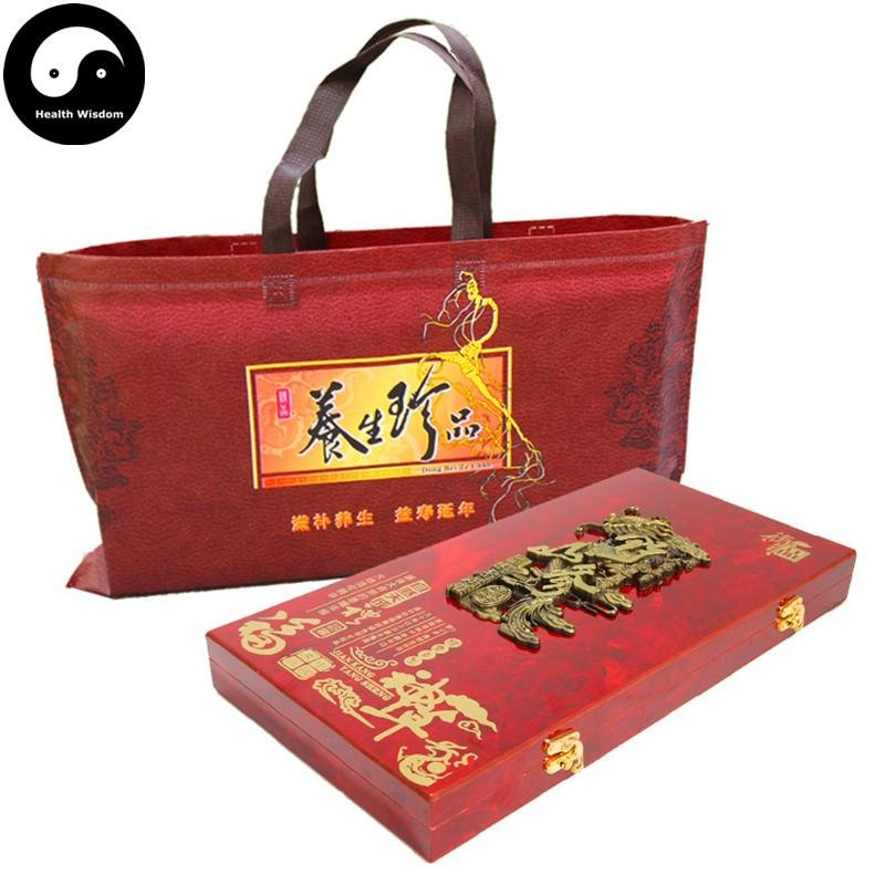 White Ginseng Roots Branches 5box 15 Years Wild Panax Ginseng Roots Bai Ren Shen