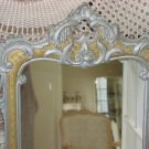 Wonderful Vintage Ornate Curio Shelf Wall Hanging With Mirrored Back