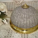 GORGEOUS OLD VINTAGE BEADED DOME ***FABULOUS***