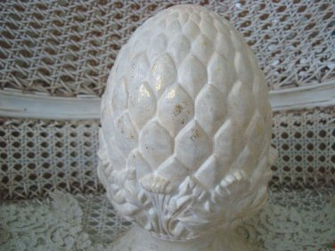 Pretty Artichoke Architectural Decor Piece  ***AWESOME***