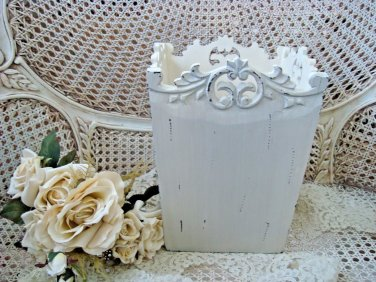 SHABBY FRENCH ORNATE  CHIC PAINTED & DISTRESSED PLANTER BOX ***AWESOME***