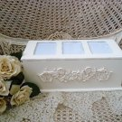 SHABBY FRENCH ORNATE CHIC FLOWERS LARGE PICTURE FRAME PHOTO BOX ***FABULOUS***