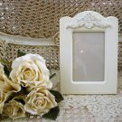 "SHABBY FRENCH CARTOUCHE 4"" x 6"" PICTURE FRAME ****ORNATE****"
