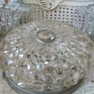 RARE Magnificent Prism Dome Ceiling Fixture Incredible Shabby