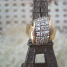 FABULOUS VINTAGE PREOWNED 14 KT GOLD UNIQUE DIAMOND KNOT RING