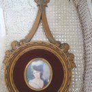 Gorgeous French Style Maria Francaise de Bourbon Wall Hanging With Bow