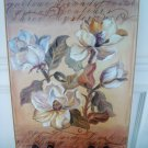 SHABBY FRENCH CHIC MAGNOLIA FLOWERS PICTURE WALL ART ***BEAUTIFUL***