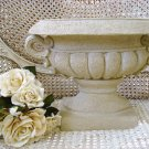 AWESOME HEAVY URN WITH HANDLES ***USE INDOORS OR OUTSIDE***