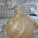 MAGNIFICENT GOLD MURANO GLASS PERFUME BOTTLE FROM ITALY #1 ****BEAUTIFUL****