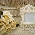 SHABBY FRENCH ORNATE SCROLLY PICTURE FRAME ****ELEGANT CHIC***