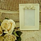"""SHABBY FRENCH CHIC ROSES 4"""" x 6"""" PICTURE FRAME ****FABULOUS****"""