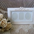 SHABBY FRENCH CHIC LARGE PRETTY ORNATE BOW PICTURE FRAME ***SO PRETTY***