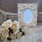 """SHABBY FRENCH ORNATE  5"""" x 7"""" PICTURE FRAME ****SO PRETTY***"""