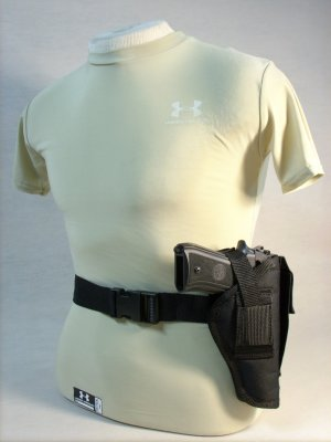 Black All American Side Holster #26