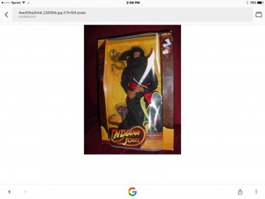 Indiana jones cairo swordsman